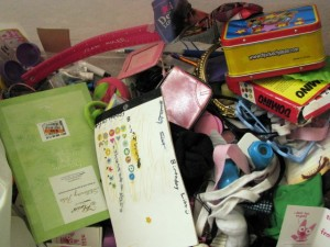 the Mess! The collection of stuff